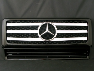 Mercedes-Benz G class 用パーツ 『W463 G55 09y STYLE GRILLE  BK/CH』 商品イメージ