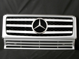 Mercedes-Benz G class 用パーツ 『W463 G55 09y STYLE GRILLE  SIL/CH』 商品イメージ