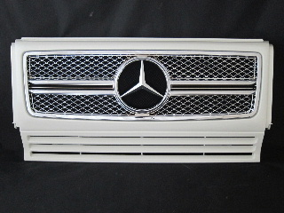 Mercedes-Benz G class 用パーツ 『W463 G65 13y-STYLE GRILLE  WHT/CH』 商品イメージ