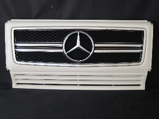 Mercedes-Benz G class 用パーツ 『W463 G63 13y STYLE GRILLE  WHT/CH』 商品イメージ