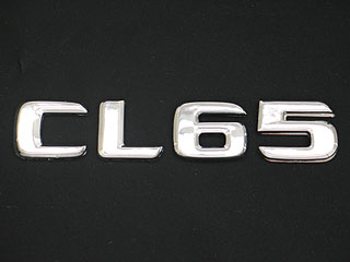 Mercedes-Benz CL class 用パーツ 『クローム エンブレム CL65』 商品イメージ