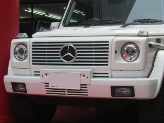 Mercedes-Benz G class 用パーツ 『W463 G63 13y STYLE GRILLE  WHT/CH』 装着イメージ