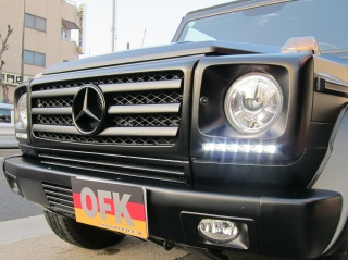 Mercedes-Benz G class 用パーツ 『W463 G55 09y STYLE GRILLE  PT/CH』 装着イメージ