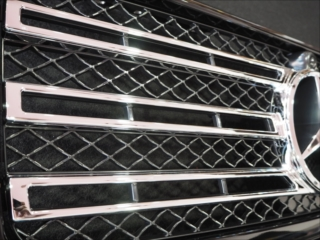 Mercedes-Benz G class 用パーツ 『W463 19y G550STYLE GRILLE  197BK』 装着イメージ
