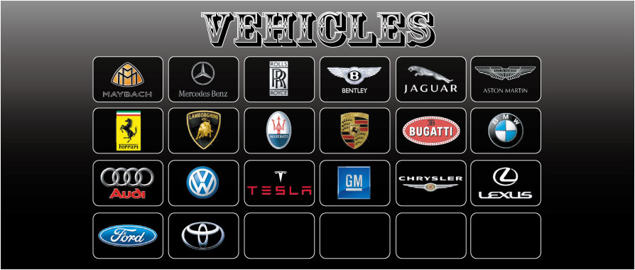 VEHICLES index